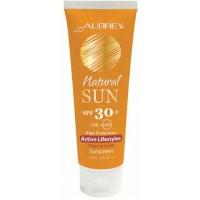 Aubrey-Natural Sun krema Active Lifestyles SPF 30+ Tropski vonj