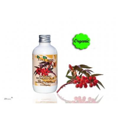 Biopark - Ekološko Ricinovo olje, hladno stiskano, 100ml